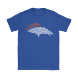 American Football Nfl All Players Team Denver Broncos Shirts | Denver Broncos Football Logo Nfl Player