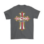 American Football Red Crusader Cross Kansas City Chiefs Nfl Shirts | Cross Crusader Cross Football Kansas City Chiefs Nfl