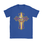 American Football Violet Crusader Cross Minnesota Vikings Nfl Shirts | Crusader Cross Football Holiday Minnesota Vikings Nfl
