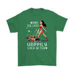 And She Lived Happily Ever After Wonder Woman Shirts | Animal Dc Comic Dog Pet Woman