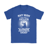 Any Man Can Be A Father Special To Be Doberman Pinscher Daddy Shirts | Animal Daddy Doberman Pinscher Dog Dog Lover