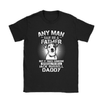 Any Man Can Be A Father Special To Be Jack Russell Daddy Shirts | Animal Daddy Dog Dog Lover Father