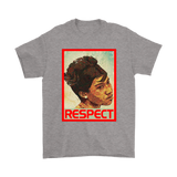 Aretha The Queen Of Soul Respect Aretha Franklin Shirts | Aretha Franklin Music Musician Respect Singer