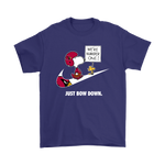 Arizona Cardinals Are Number One - Just Bow Down Snoopy Shirts | Arizona Cardinals Football Just Do It Mashup Nfl