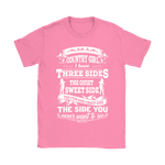 As A Country Girl I Have Three Sides Shirts | Country Country Girl Woman
