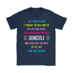 As I Grew Older Then I Handed My First Grandchild Shirts | Family Grandchild Grandma Grandpa Teeglobal