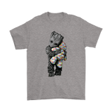 Baby Groot Autism Awareness Hugging Teddy Bear Shirts | Autism Awareness Groot Guardians Of The Galaxy Marvel