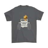 Baby Groot Drive A Jeep Car Shirts | Car Groot Guardians Of The Galaxy Jeep Mashup