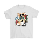 Bad Dog Tattooed Corgi Too Cool For You Shirts | Animal Corgi Dog Tattoo Tattooed Animal