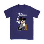 Baltimore Orioles Mickey Taking The Trophy Mlb 2018 Shirts | Baltimore Orioles Baseball Commissioners Trophy Disney Mashup