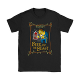 Beer And The Beast Barney Gumble The Simpsons Shirts | Barney Gumble Beauty And The Beast Beer Beer Lover Disney