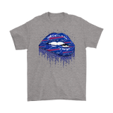 Biting Glossy Lips Sexy Buffalo Bills NFL Football Shirts