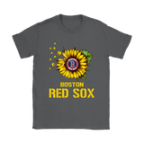 Boston Red Sox Sunflower Mlb Baseball Shirts | Baseball Boston Red Sox Flower Mlb Sport