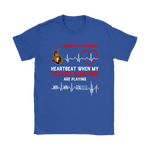 My Heartbeat When My Ottawa Senators Are Playing Ice Hockey Shirts | Heartbeat Ice Hockey Nhl Ottawa Senators Sport