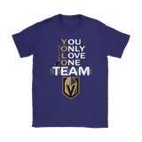 Yolo You Only Love One Team Vegas Golden Knights Hockey Shirts | Ice Hockey Love Nhl Sport Trending