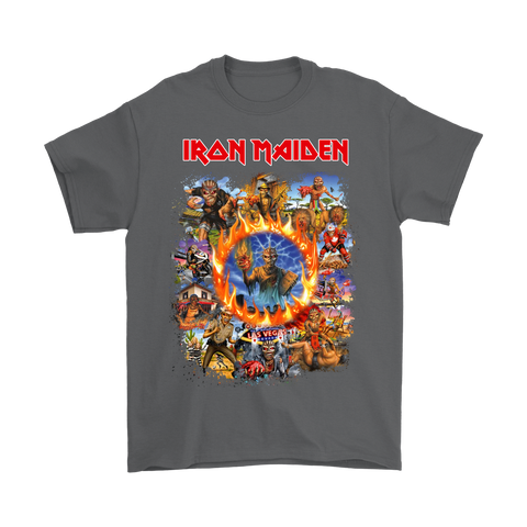 Iron Maiden Eddie The Head Album Covers Shirts | Band Eddie The Head Heavy Metal Iron Maiden Music