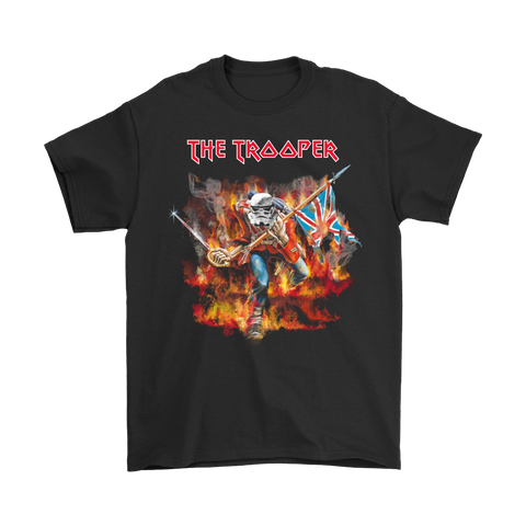 Iron Maiden The Trooper Album Cover Mashup Star Wars Shirts | Eddie The Head Heavy Metal Iron Maiden Mashup Movie