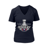 My Cup Size Is Stanley Nhl Team Washington Capitals For Women Shirts | Ice Hockey Nhl Sport Stanley Cup Trending