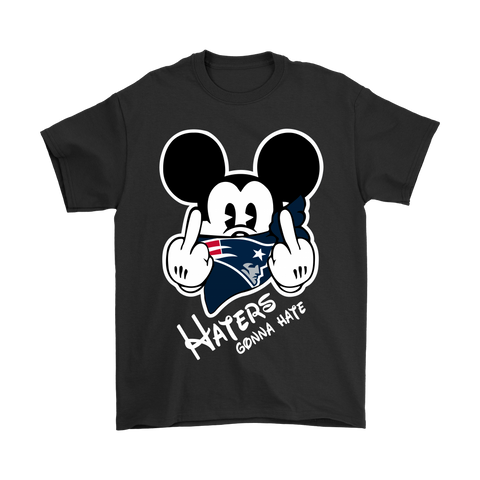Nfl Mickey Team New England Patriots Haters Gonna Hate Shirts | Football Gonna Holiday Mickey Mickey Mouse