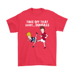 Arizona Cardinals Take Off That Shirt Dumbass Groin Kick Shirts