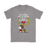 Be A Buccaneers Fan Tampa Bay Buccaneers x Snoopy Mashup Shirts