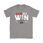 Washington Capitals All We Do Is Win Stanley Cup Champions 2018 Shirts | Champions Ice Hockey Nhl Sport Stanley Cup