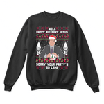 Michael Scott Jesus Party's So Lame The Office Christmas Ugly Sweater