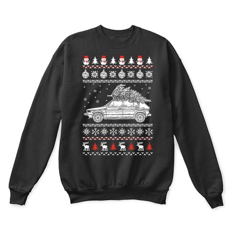 1975 Volkswagen Golf GT Brings Christmas Home Ugly Sweater
