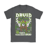 World Of Warcraft Druid Touch And Transcendent Shirts | Druid Job Class Rpg Video Game World Of Warcraft