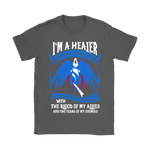 World Of Warcraft Im A Healer Dictator Of Life And Death Shirts | Gamer Healer Mmorpg Video Game World Of Warcraft
