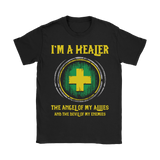 World Of Warcraft Im A Healer The Angel Of My Allies Shirts | Healer Rpg Video Game World Of Warcraft