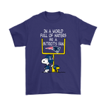 Be A Patriots Fan New England Patriots x Snoopy Mashup Shirts