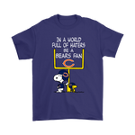 Be A Bears Fan Chicago Bears x Snoopy Mashup Shirts