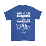 You Can You Should And If Youre Brave Enough Shirts | Book Motivation Quote Stephen King Writer