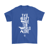 You Cant Save The World Alone Justice League Shirts | Aquaman Batman Cyborg Fandom Flash