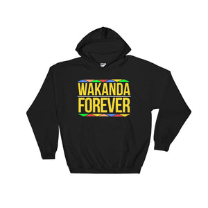 """Wakanda Forever"" Hooded Sweatshirt"