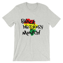 "Load image into Gallery viewer, ""Black History Month"" Unisex T-Shirt"