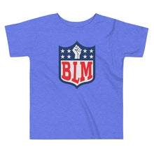 "Load image into Gallery viewer, ""BLM"" Toddler Short Sleeve Tee"