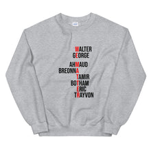 "Load image into Gallery viewer, ""We Matter"" Unisex Sweatshirt"