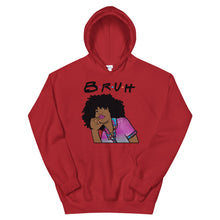 "Load image into Gallery viewer, ""Bruh"" Unisex Hooded Sweatshirt"