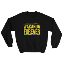 "Load image into Gallery viewer, ""Wakanda Forever"" Sweatshirt"
