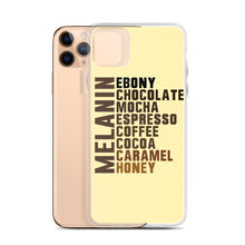 "Load image into Gallery viewer, ""Melanin Flavors"" iPhone Case"