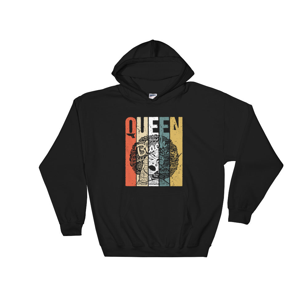 """Queen"" Hooded Sweatshirt"
