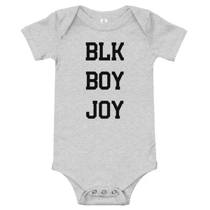 """Blk Boy Joy"" Bodysuit"