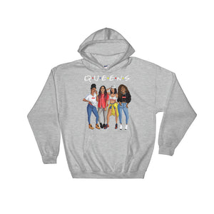 """Queens"" Hooded Sweatshirt"