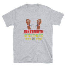 "Load image into Gallery viewer, ""Juneteenth"" Unisex T-Shirt"