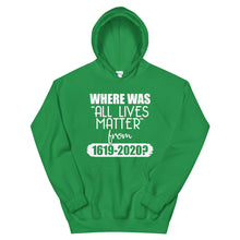 "Load image into Gallery viewer, ""Where Was ALM?"" Unisex Hoodie"