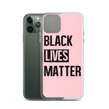 "Load image into Gallery viewer, ""Black Lives Matter"" iPhone Case"