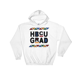 """HBCU GRAD"" Hooded Sweatshirt"