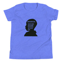 "Load image into Gallery viewer, ""Dear Black Boy"" Youth Short Sleeve T-Shirt"